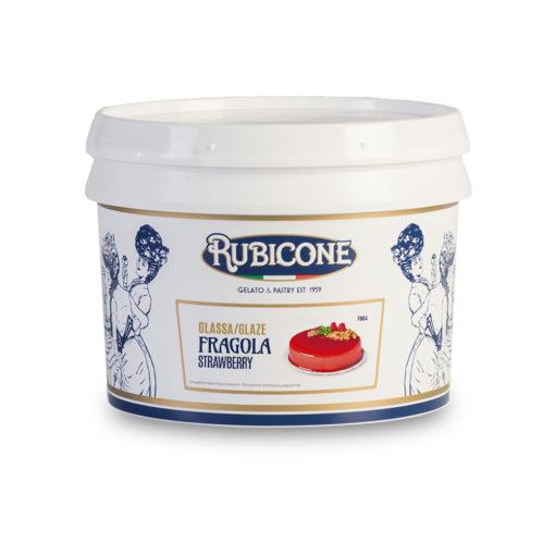 F604 Fragola Strawberry - GLASSA FRAGOLA A SPECCHIO
