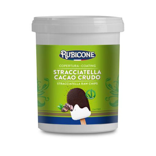 F969 Stracciatella Cacao Crudo Copertura - STRACCIATELLA RAW CHIPS