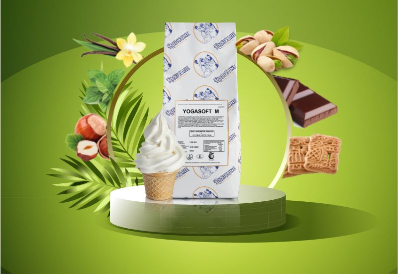 podio verde palme frozen cremosi 2 - Frozen Yogurt